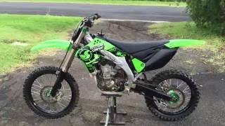 4. KX450F - 2007 model - For Sale - Excellent condition - video walkaround