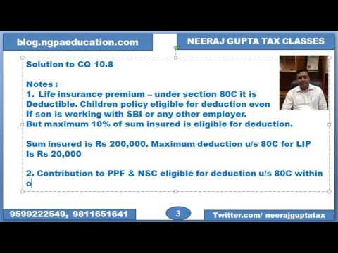 80E - Repayment of education loan (DEDUCTIONS)