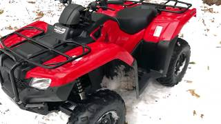 1. 2017 HONDA RANCHER 420 FIRST RIDE. IS IT WORTH IT!?!?