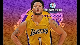 Derrick Rose And Los Angeles Lakers Have Scheduled A Meeting For Today