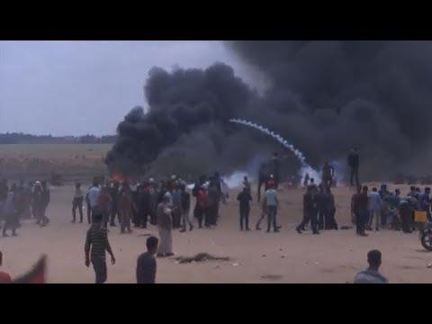 Eröffnung von US-Botschaft: Dutzende Tote bei Protesten ...
