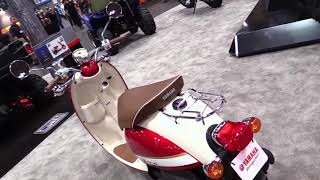 7. 2018 Yamaha Vino Classic 50cc Scooter Special Series Lookaround Le Moto Around The World