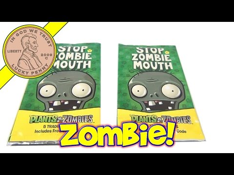 popcap - [MORE LINKS BELOW] http://www.luckypennyshop.com/toys.htm Watch our product video for a Stop Zombie Mouth 5 Trading Cards - Plants vs Zombies Online Game - P...