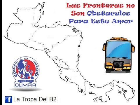 Ultra Fiel En Nicaragua - Concachampions 2013 - La Ultra Fiel - Club Deportivo Olimpia