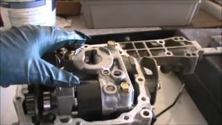 4. Tractor hydro transmission rebuild part 1