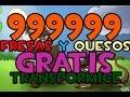 COMO CONSEGUIR 999999 FRESAS EN TRANSFORMICE GRATIS