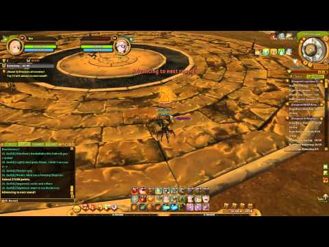 Ragnarok Online 2 Wizard Coloseum Gameplay PVE/PVP build