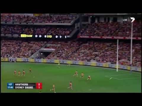 hawthorn - Highlights from Hawthorn's big win over Sydney. For more video, head to http://afl.com.au.