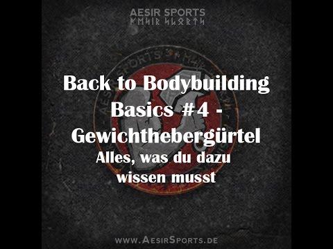 Back to Bodybuilding Basics #4: Der Gewichthebergürtel – Vorteile, Einsatz & hilfreiche Tipps