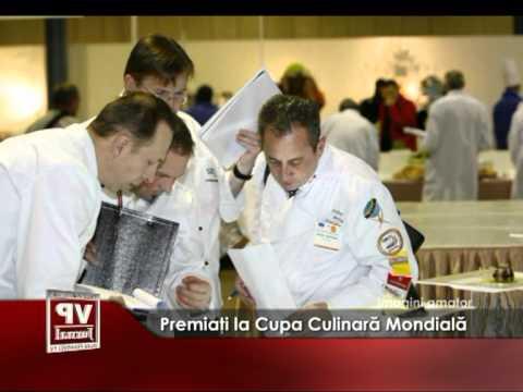 Premiaţi la Cupa Culinară Mondială