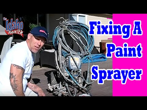 operating a graco 695 - How to fix a Graco Airless Sprayer that will not prime. A quick and simple method to clear the lower fluid section to get the sprayer up and running and prim...