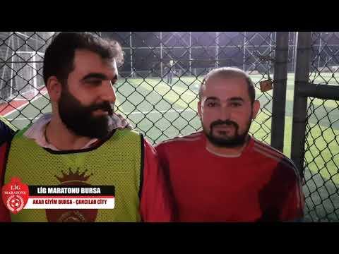 AKAR GİYİM BURSA - Çancılar City  Akar Giyim Bursa - Çancılar City / Maç Sonu Röportajı / Lig Maratonu Bursa