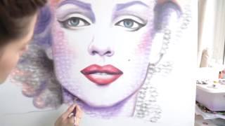 「キス」すればするほど、美しくなる絵画。