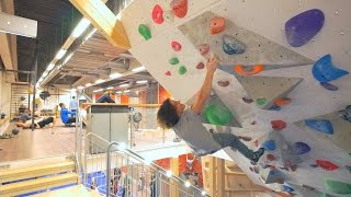 Climbing In The Tunnel With Axel Part 2 by Eric Karlsson Bouldering