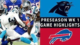 Panthers vs. Bills Highlights | NFL 2018 Preseason Week 1