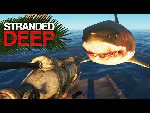 Megalodon Boss Fight! Stranded Deep S2 Episode 12