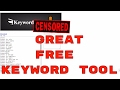 Free Keyword Tool For Your Affiliate Marketing, eCommerce, Youtube Etc | Better Than Most Paid Tools
