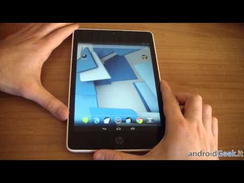 HP Slate 8 Pro: Video Recensione by androidgeek.it