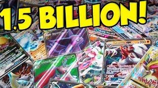 Pokemon TCG Shipped 1.5 BILLION Pokemon Cards Last Year! by Verlisify