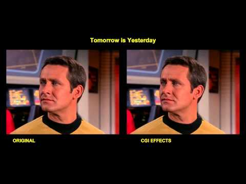 Star Trek - Tomorrow is Yesterday - visual effects comparison