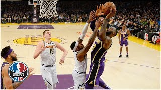 LeBron passes Michael Jordan on scoring list, but the Lakers fall to the Nuggets   NBA Highlights