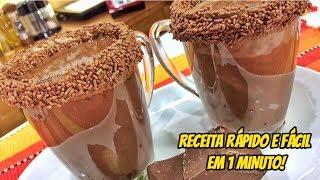 Aprenda como fazer a Receita Chocolate Quente Cremoso, típica receita de São João e Festa Junina Inscreva-se no nosso canal e ative o sininho para receber ...