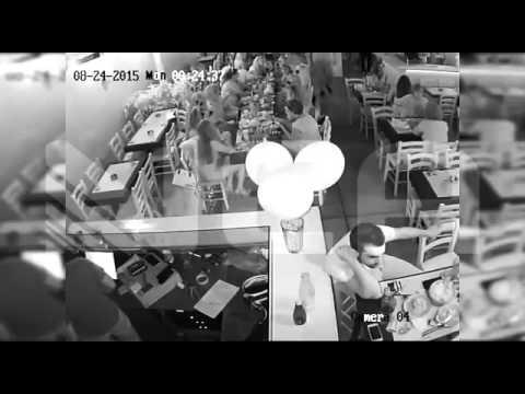 Βίντεο - σοκ από την απόπειρα δολοφονίας σε μπαρ των Χανίων!