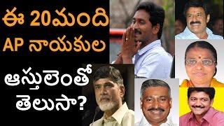 Video Top 20 Crorepati politicians in AP Assembly MP3, 3GP, MP4, WEBM, AVI, FLV September 2018