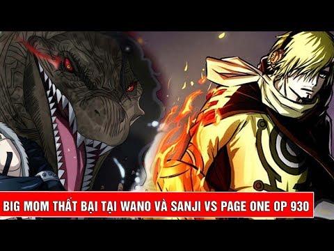 Đội quân BigMom thất bại tại Wano và Sanji chuẩn bị hoá siêu nhân chiến Page One trong One Piece tập - Thời lượng: 4 phút, 31 giây.