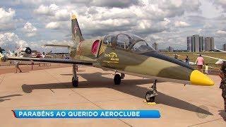Aeroclube de Bauru comemora 80 anos com exposição de aviões e planadores