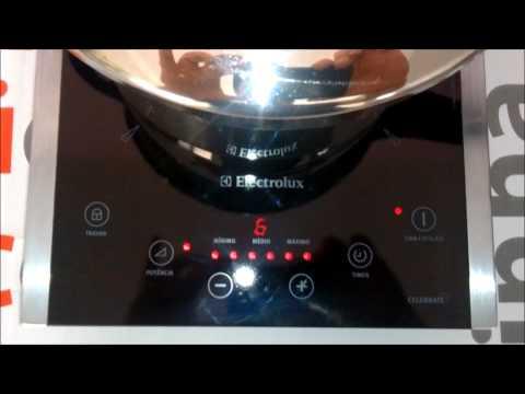 cooktop porttil electrolux celebrate 1 boca icp30 cozinhando feijo