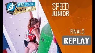 IFSC Youth World Championships Moscow 2018 - Speed - Finals - Junior by International Federation of Sport Climbing