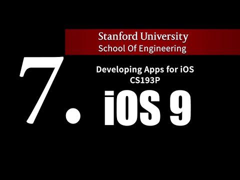 Stanford IOS 9 - Lecture 7. Closures,…