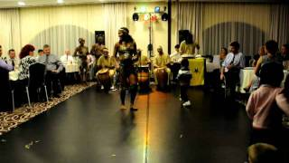 Vecses Hungary  City new picture : African Melody Band New Years Eve Presentation 1, Vecsés, Hungary