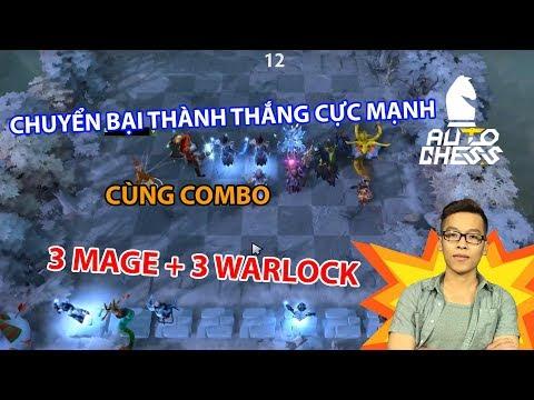 Chuyển Bại Thành Thắng Cực Mạnh Cùng Combo 3 Mage + 3 Warlock | Trâu Auto Chess - Thời lượng: 44 phút.