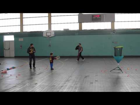 Speed badminton - Speed badminton animation discovery in Abbeville