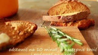 Przepis na chleb na sodzie z miodem i rozmarynem