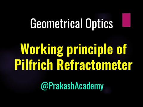 Physik Formelsammlung: REFRAKTOMETER