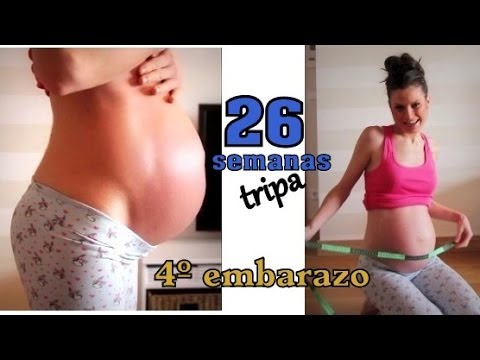 Tripa 26 semanas embarazo / 26 weeks pregnant belly