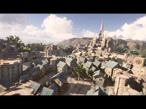 Stormwind City in Unreal Engine 4