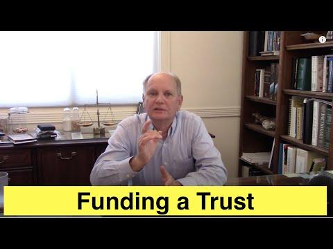 Funding a Trust
