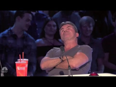 Simon Cowell is in a Really BAD MOOD Buzzing Off Great Acts   America's Got Talent 2017
