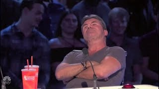 Nonton Simon Cowell is in a Really BAD MOOD Buzzing Off Great Acts | America's Got Talent 2017 Film Subtitle Indonesia Streaming Movie Download