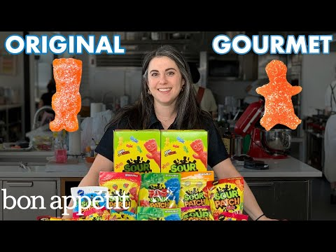 Pastry Chef Attempts to Make Gourmet Sour Patch Kids | Gourmet Makes | Bon Appétit