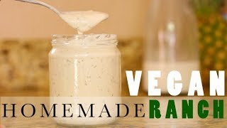 In this video I share my super simple recipe for my homemade soy free vegan ranch. This recipe literally only takes a minute to ...
