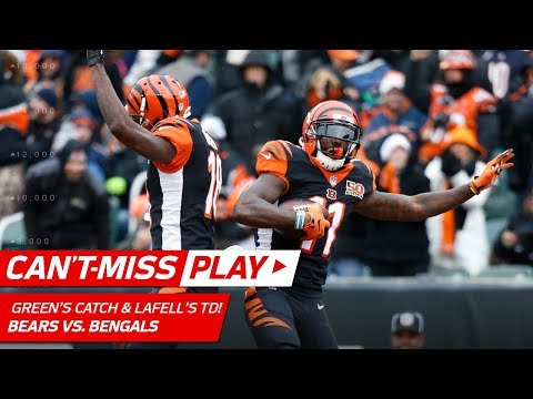 Video: A.J. Green's Ridiculous Deflection Catch & Brandon LaFell's TD Grab! | Can't-Miss Play | NFL Wk 14