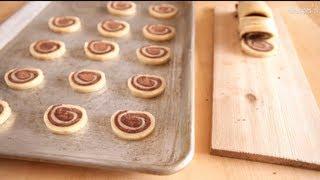 Przepis na ślimaczki waniliowo-czekoladowe