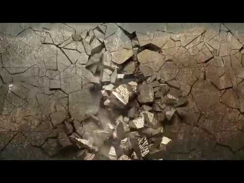 Exploding Wall HD (Animation)