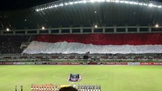 Video Final Piala Presiden 2017 Bendera Merah Putih Raksasa Berkibar (The Giant Indonesian Flag) MP3, 3GP, MP4, WEBM, AVI, FLV Desember 2018