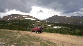 Bill Moore Lake 4X4 Trail - Near Denver, Colorado